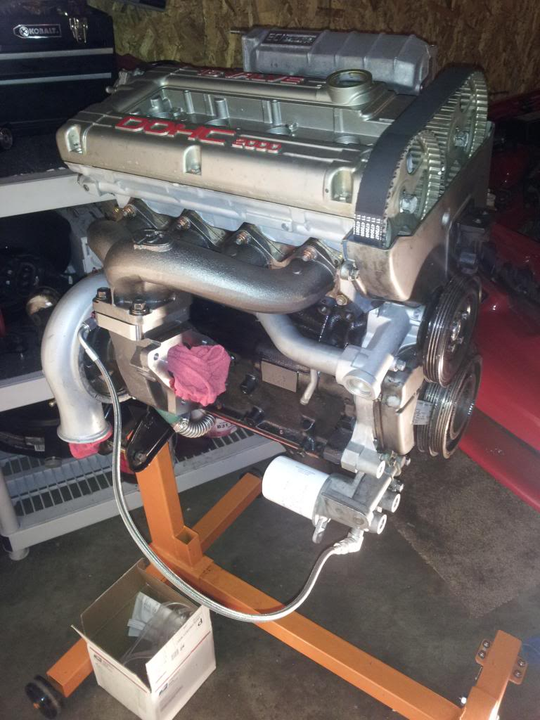 Engine Nearing Completion