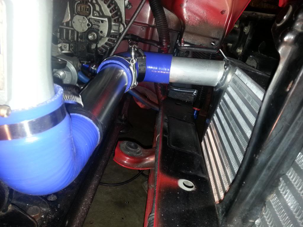 Intercooler Connections