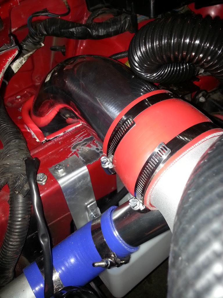 Cold air intake pipe
