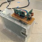 Mounted on the Pi Case