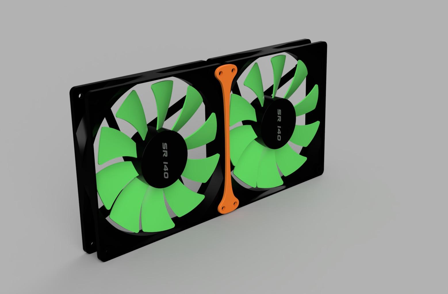 Fan Connector Rendering